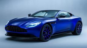 Aston Martin DB11 Zaffre Blue z działu Q