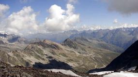 Austria, Włochy - dolina rzeki Oetztaler Ache