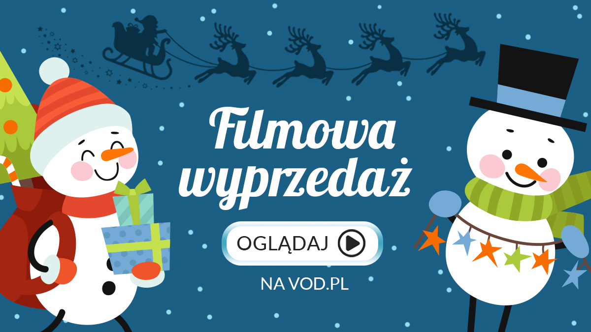 Filmowa wyprzedaż świąteczna w VoD.pl