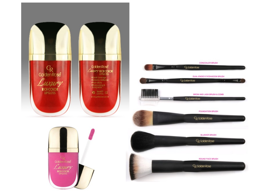 Usta pełne: Korektor w Płynie Golden Rose (14,90 PLN) Ultra Rich Color Lipstick 53 (12,90 PLN)  Usta wąskie: Golden Rose Lipstick 65 (8,60 PLN) Classics Waterproof Lip Pencil 318 (4,90 PLN) Beauty Multicolor Diamonds Lipgloss 04 (16,90 PLN)  Usta asymetryczne: Classics Waterproof Lip Pencil 322 (4,90 PLN) Ultra Rich Color Lipstick 53 (12,90 PLN) Korektor w Płynie Golden Rose (14,90 PLN)  Usta z opadającymi kącikami:  Ultra Diamonds Lipstick 04 (12,50 PLN) Classics Waterproof Lip Pencil 316 (4,90 PLN) Korektor w Płynie Golden Rose (14,90 PLN)