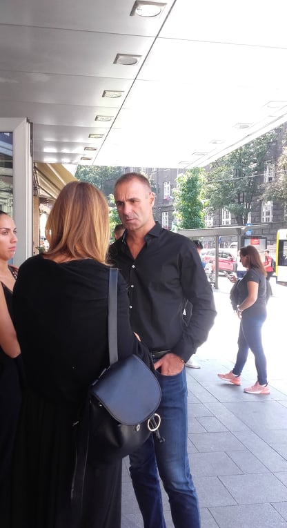 Gruov brat Igor Adonov i supruga Milica