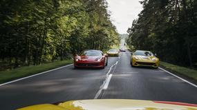 Kilkadziesiąt Ferrari wjechało do Sopotu. Wśród nich najnowszy model GTC 4 LUSSO