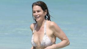 Cindy Crawford w bikini