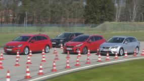 Uwodziciele rodzin - Kia cee'd SW, Opel Astra Sports Tourer, Peugeot 308 SW i Seat Leon ST