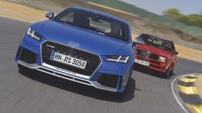 Audi TT RS kontra Audi Sport Quattro - Bestie z różnych epok