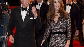 Księżna Catherine w pięknej, koronkowej sukni