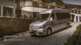 Luksusowy Mercedes Sprinter od Carlex Desing