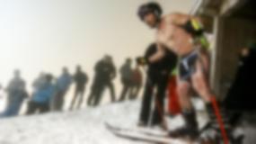 Naked Slalom Skirace - zawody sportowe dla golasów