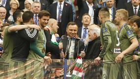 Znani na meczu Pucharu Polski