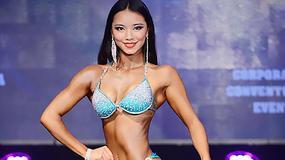 Oto najmłodsza mistrzyni fitnessu w Chinach