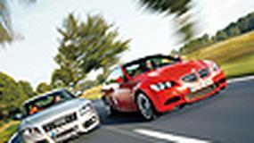 Audi S5 kontra BMW M3 - Gdzie piękność... tam i bestia