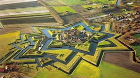 Bourtange - miasto-twierdza w Holandii