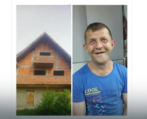 Besko Toskić i kuća koju je dobio na poklon od Turkčana