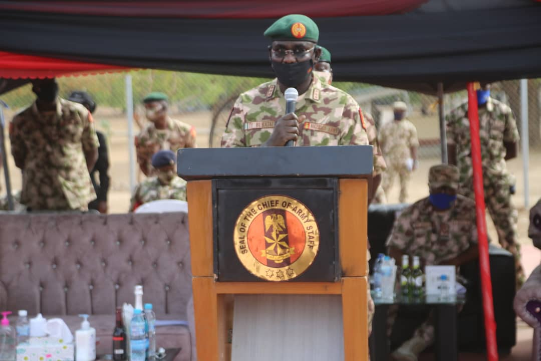 Nigeria News Today - Boko Haram: Buratai enjoins troops to redouble effort | NewsBurrow thumbnail