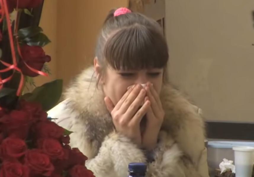 Miljana Kulić plače