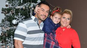 Katarzyna Skrzynecka z mężem i córeczką na mikołajkowej imprezie. Kto jeszcze się pojawił?