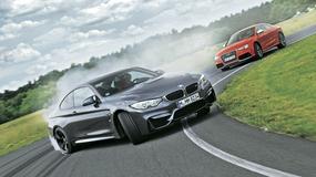Porównanie Audi RS 5 i BMW M4: palenie gumy to ich specjalność
