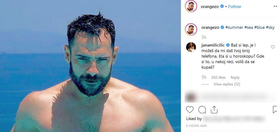 Jana Milić komentariše fotografiju Zorana Pajića