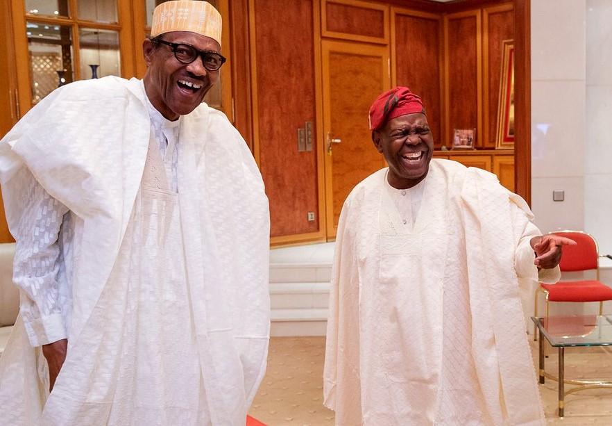 Buhari congratulates APC Chieftain Bisi Akande on 80th birthday [ARTICLE] -  Pulse Nigeria