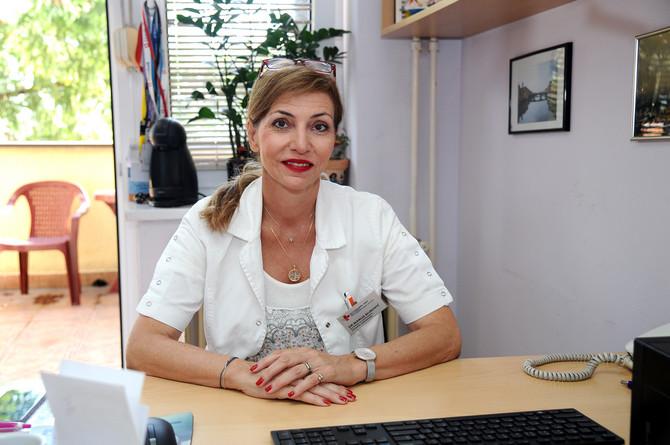 """dr Marija Đurović, psihijatar i šef Odseka za adolescentnu psihijatriju i psihoterapiju Bolnice za psihijatriju KBC """"Dragiša Mišović"""