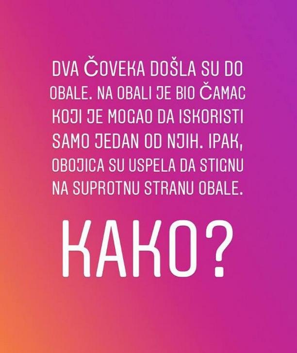 Imate li odgovor na ovo pitanje?