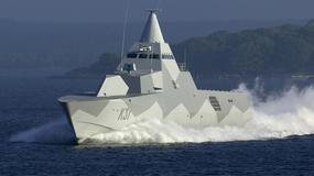 Szwedzkie korwety rakietowe stealth typu Visby