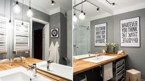 Oświetlenie umywalki: siedem pomysłów z polskich łazienek