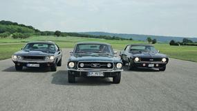 Parada ogierów: Dodge Challenger, Ford Mustang, Chevrolet Camaro