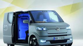 Volkswagen eT!: elektryzujący van