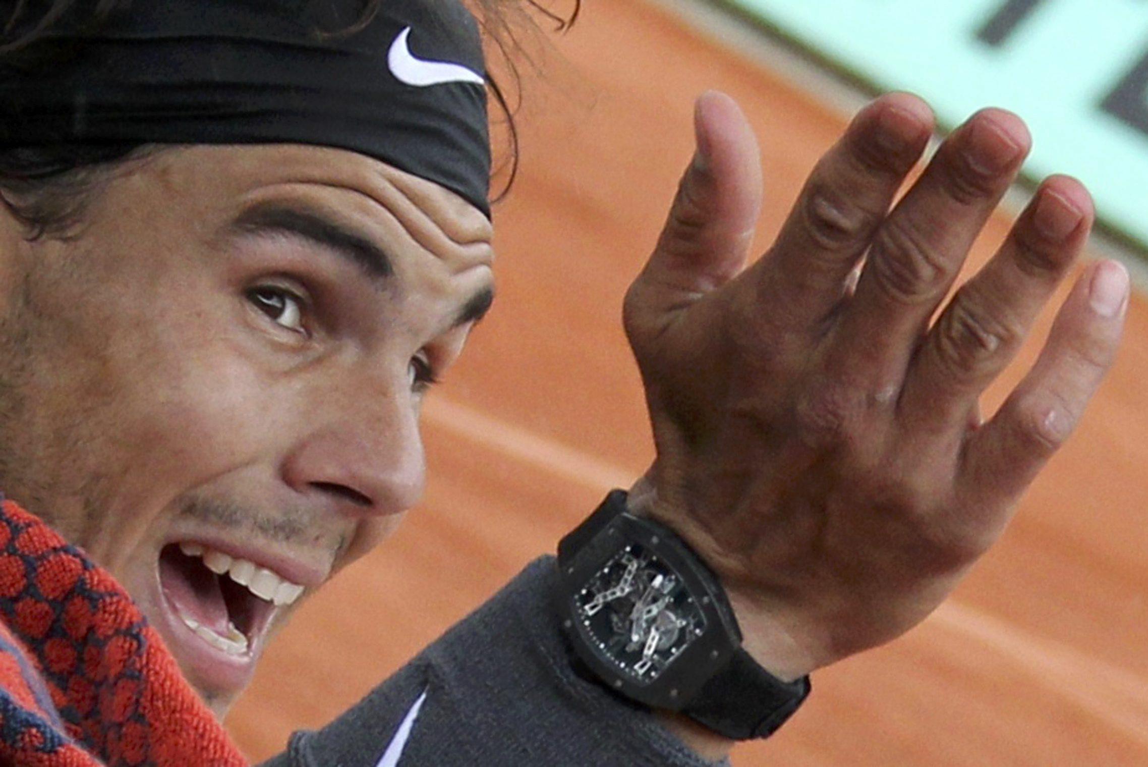 Rafael Nadal Odzyskal Swoj Skradziony Zegarek