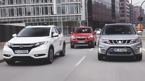 Japonia kontra Mokka - porównanie małych SUV-ów