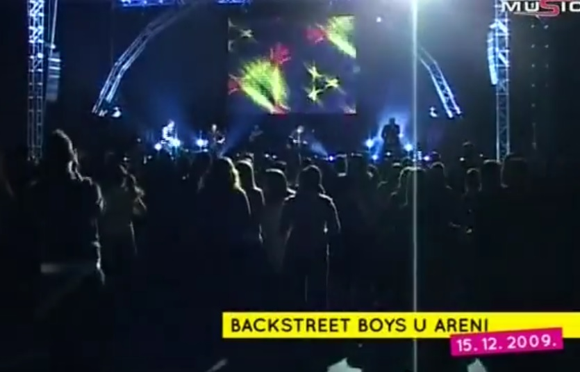 Backstreet Boys u Areni
