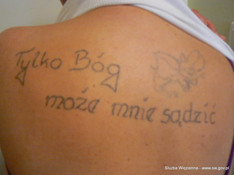 Więzienne Tatuaże Wiadomości