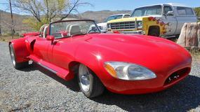 Tak, to jest replika Jaguara E-Type. Najgorszy tuning na świecie