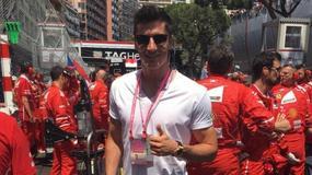 Robert Lewandowski i inne gwiazdy na GP Monako