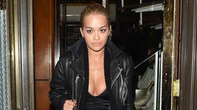 Seksowna Rita Ora na spotkaniu z Hamiltonem