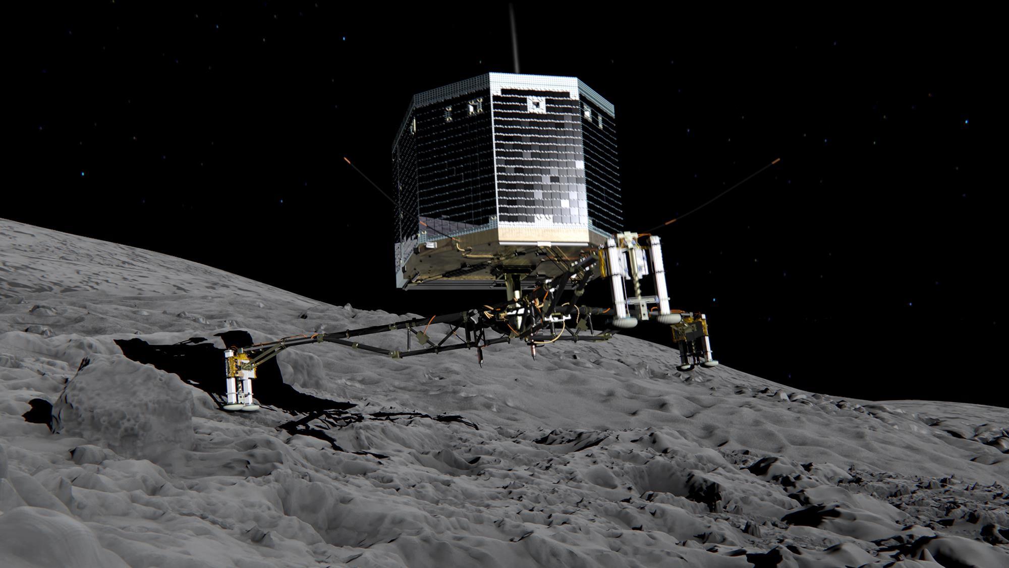 esa rosetta probe - HD2000×1126