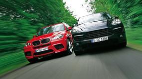 Superterenówki z turbodopalaczem: BMW X5 M kontra Porsche Cayenne Turbo