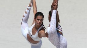 Aniołki Victoria's Secret w sportowej sesji