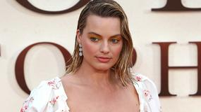 "Margot Robbie na premierze ""Goodbye Christopher Robin"""