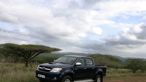 Używana Toyota Hilux: ciężarówka 4x4