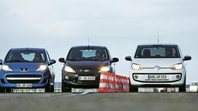 Volkswagen UP! kontra Peugeot 107 i Ford KA: mały Volkswagen w natarciu