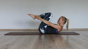 Pilatesowa seria na płaski brzuch. Pięć świetnych ćwiczeń