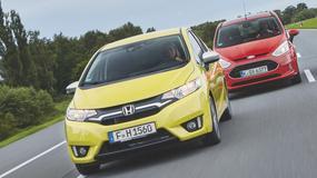 Pojemność kontra turbo - Honda Jazz vs Ford B-Max