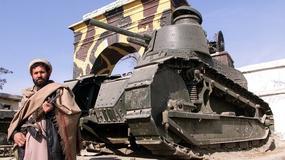 FT-17 najstarszy polski czołg odnaleziony w Afganistanie