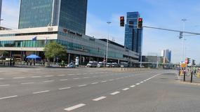 Puste centrum Warszawy. Ruszył szczyt NATO