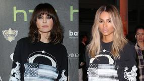 Horodyńska i Ciara w tej samej kreacji od Givenchy