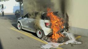 Niespotykane Audi A1 Quattro doszczętnie spłonęło