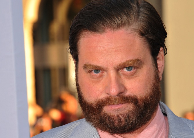 Zach Knight Galifianakis (z ang. knight – rycerz)