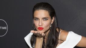Adriana Lima w seksowej bieli
